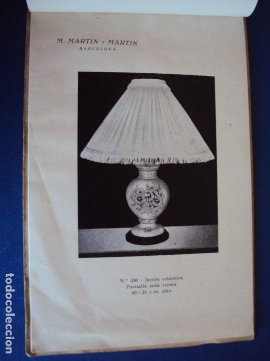 Catálogos publicitarios: (CAT-200503)CATALOGO DE LAMPARAS M.MARTIN Y MARTIN (BARCELONA) - Foto 6 - 205819766
