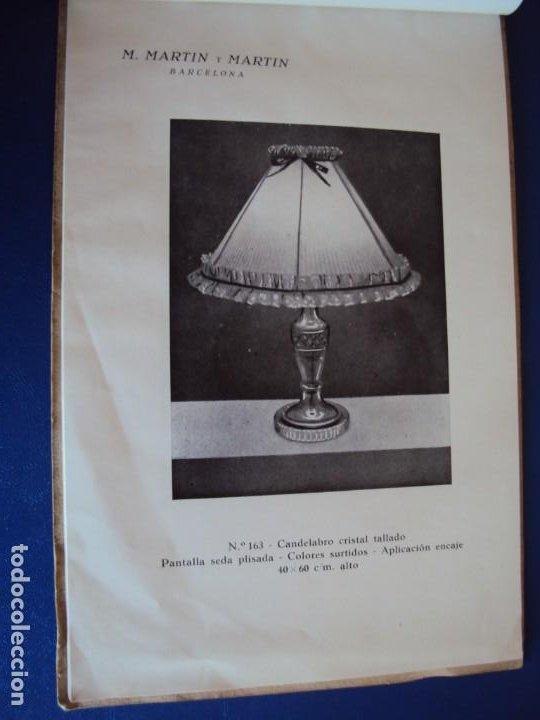 Catálogos publicitarios: (CAT-200503)CATALOGO DE LAMPARAS M.MARTIN Y MARTIN (BARCELONA) - Foto 7 - 205819766