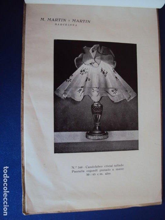 Catálogos publicitarios: (CAT-200503)CATALOGO DE LAMPARAS M.MARTIN Y MARTIN (BARCELONA) - Foto 8 - 205819766