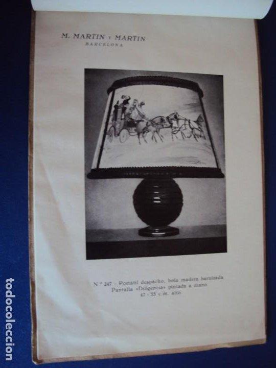 Catálogos publicitarios: (CAT-200503)CATALOGO DE LAMPARAS M.MARTIN Y MARTIN (BARCELONA) - Foto 10 - 205819766