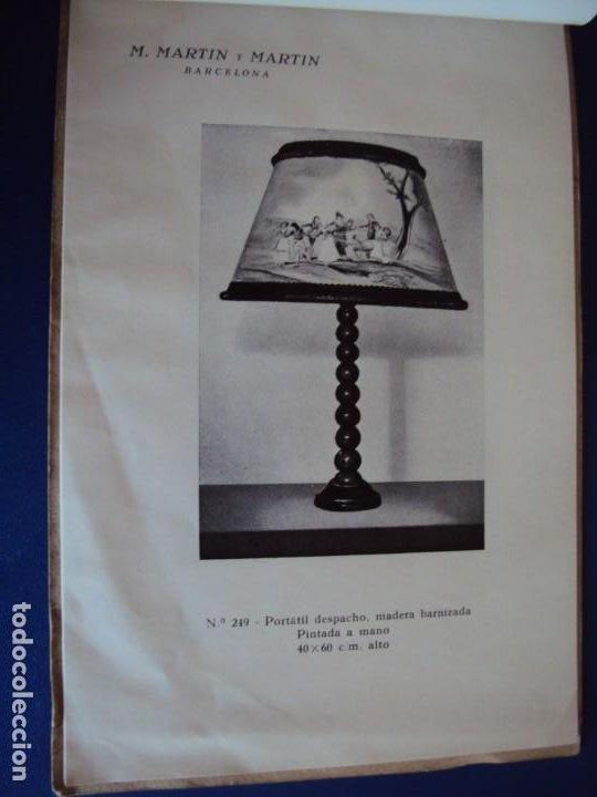 Catálogos publicitarios: (CAT-200503)CATALOGO DE LAMPARAS M.MARTIN Y MARTIN (BARCELONA) - Foto 11 - 205819766