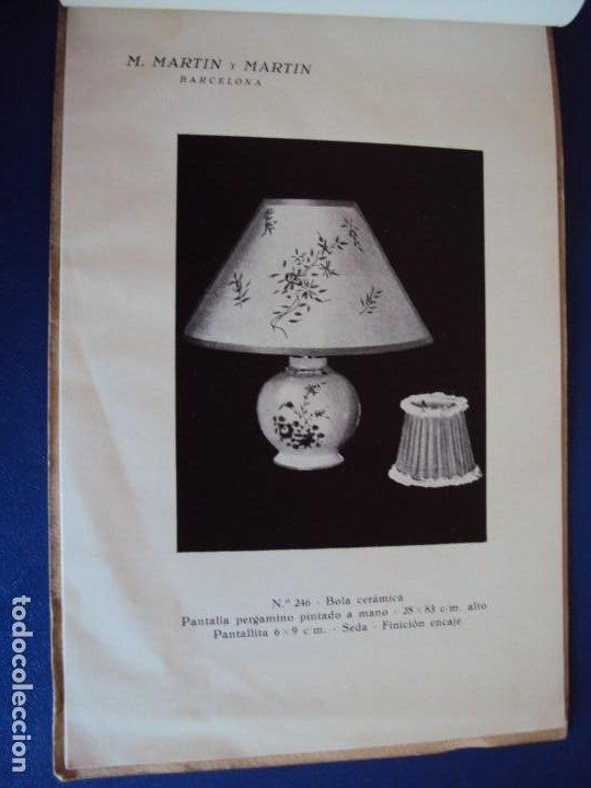 Catálogos publicitarios: (CAT-200503)CATALOGO DE LAMPARAS M.MARTIN Y MARTIN (BARCELONA) - Foto 12 - 205819766