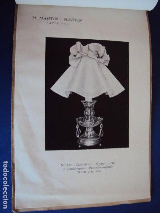 Catálogos publicitarios: (CAT-200503)CATALOGO DE LAMPARAS M.MARTIN Y MARTIN (BARCELONA) - Foto 15 - 205819766