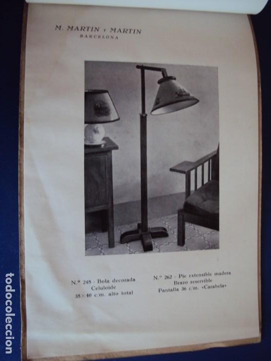 Catálogos publicitarios: (CAT-200503)CATALOGO DE LAMPARAS M.MARTIN Y MARTIN (BARCELONA) - Foto 16 - 205819766