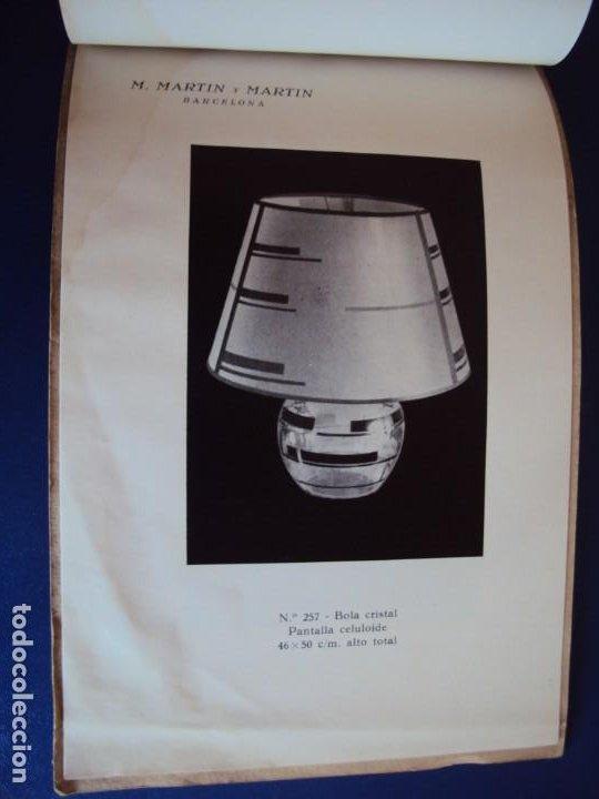 Catálogos publicitarios: (CAT-200503)CATALOGO DE LAMPARAS M.MARTIN Y MARTIN (BARCELONA) - Foto 19 - 205819766