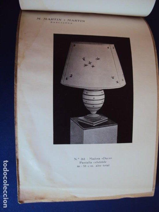 Catálogos publicitarios: (CAT-200503)CATALOGO DE LAMPARAS M.MARTIN Y MARTIN (BARCELONA) - Foto 21 - 205819766