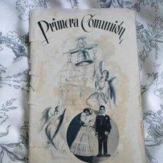 Catálogos publicitarios: ANTIGUO CATALOGO PUBLICITARIO EL CORTE INGLES MADRID - PRIMERA COMUNION - AÑO 1952. Lote 205823957