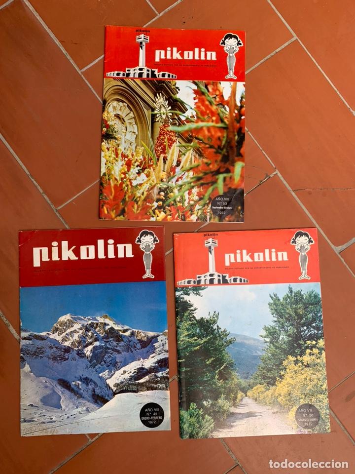 BOLETÍN PUBLICITARIO PIKOLIN (Coleccionismo - Catálogos Publicitarios)