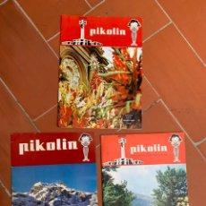 Catálogos publicitarios: BOLETÍN PUBLICITARIO PIKOLIN. Lote 206376061