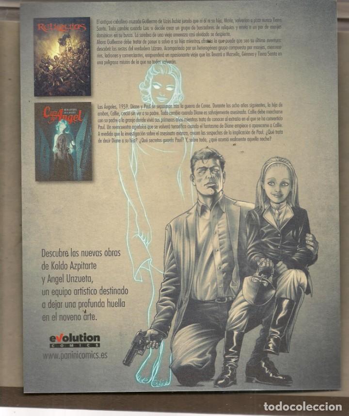 Catálogos publicitarios: TARJETA PUBLICIDAD: CARA DE ÁNGEL. TAMAÑO: 22 X 18 CTM. EVOLUTIÓN. (C/A24) - Foto 2 - 206765478
