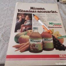 Catálogos publicitários: MI ZUMO MILUPA PARA BEBÉ ANTIGUO ANUNCIO PUBLICIDAD REVISTA. Lote 206770466