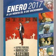 Catálogos publicitarios: CATÁLOGO: NOVEDADES NORMA EDITORIAL. ENERO 2017. (P/C52). Lote 206915821