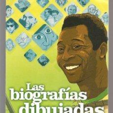 Catálogos publicitarios: CATÁLOGO: NORMA EDITORIAL. LAS BIOGRAFÍAS DIBUJADAS. (P/C52). Lote 206922295