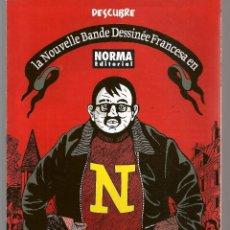 Catálogos publicitarios: CATÁLOGO: NORMA EDITORIAL. LA NOUVELLE BADE DESSINÉE FRANCESA . (P/C52). Lote 206922473