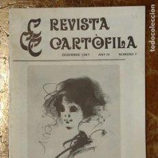 Catálogos publicitarios: REVISTA CARTOFILA Nº 7 POSTALES DE BARCELONA, LA VEU DEL EMPORDÁ, ASOCIACIÓ PROTECTORA ENSEYANÇA. Lote 46537778