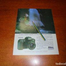 Catálogos publicitarios: PUBLICIDAD 1991: CÁMARA FOTOGRÁFICA NIKON F-601. Lote 207100871