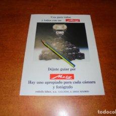 Catálogos publicitarios: PUBLICIDAD 1991: METZ. Lote 207101135