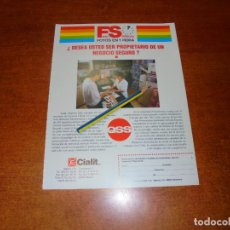 Catálogos publicitarios: PUBLICIDAD 1991: MINILABORATORIOS FOTOGRÁFICOS QSS. CIALIT S.A.. Lote 207101628