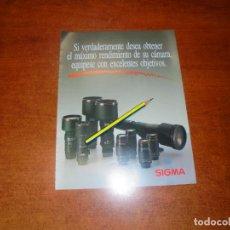 Catálogos publicitarios: PUBLICIDAD 1991: OBJETIVOS SIGMA. Lote 207101713