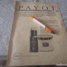 Catálogos publicitarios: CREMA LIPOSOMAS PAYOT ANUNCIO PUBLICIDAD REVISTA 1989. Lote 207111002