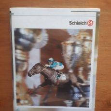 Catálogos publicitarios: CATÁLOGO SCHLEICH 2008. Lote 207206667