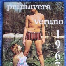 Catálogos publicitarios: CATÁLOGO ALMACENES PROGRESO. MADRID. MODA PRIMAVERA VERANO 1967. Lote 207240167