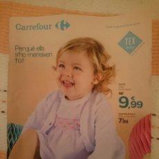 Catálogos publicitarios: CATALOGO DE TEXTIL CARREFOUR - DEL 26 ENERO AL 25 FEBRERO 2018. Lote 208435230