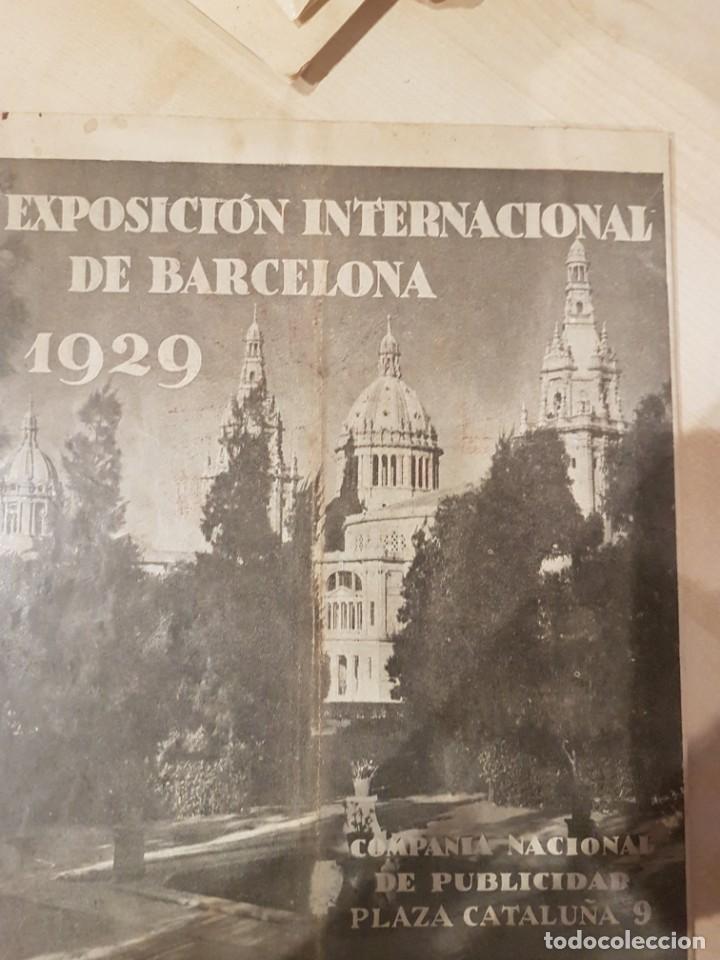 CATALOGO PUBLICITARIO FERIA BARCELONA 1929 PIEZA MUY MUY RARA (Coleccionismo - Catálogos Publicitarios)