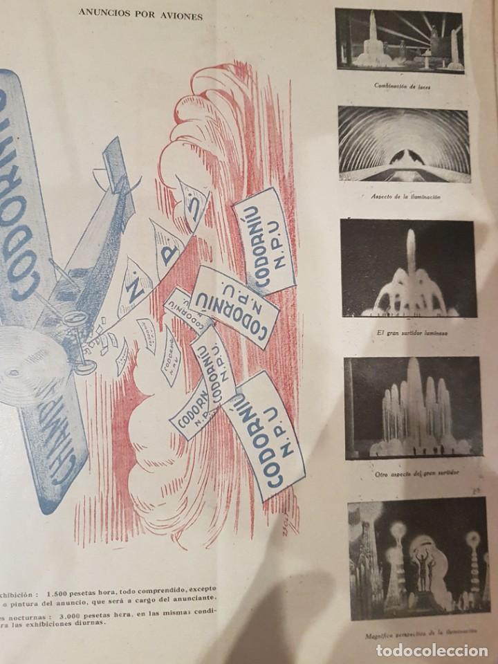 Catálogos publicitarios: CATALOGO PUBLICITARIO FERIA BARCELONA 1929 pieza muy muy rara - Foto 6 - 209053451