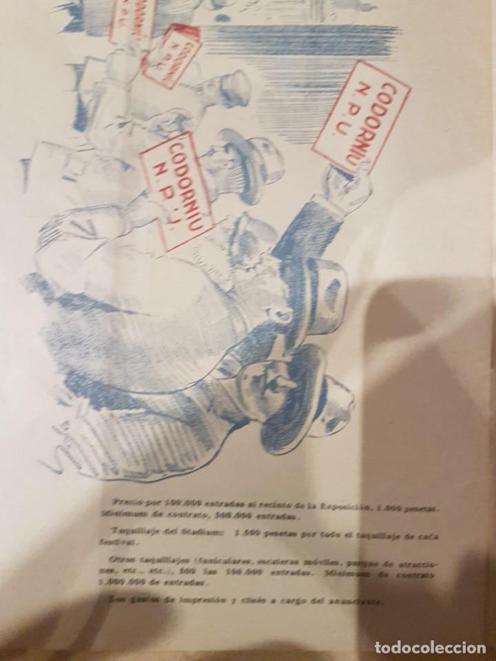 Catálogos publicitarios: CATALOGO PUBLICITARIO FERIA BARCELONA 1929 pieza muy muy rara - Foto 8 - 209053451