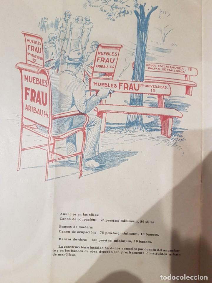 Catálogos publicitarios: CATALOGO PUBLICITARIO FERIA BARCELONA 1929 pieza muy muy rara - Foto 9 - 209053451