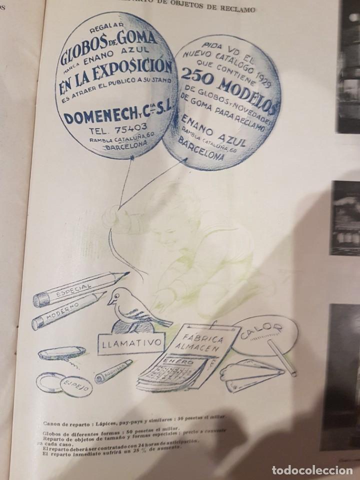 Catálogos publicitarios: CATALOGO PUBLICITARIO FERIA BARCELONA 1929 pieza muy muy rara - Foto 10 - 209053451