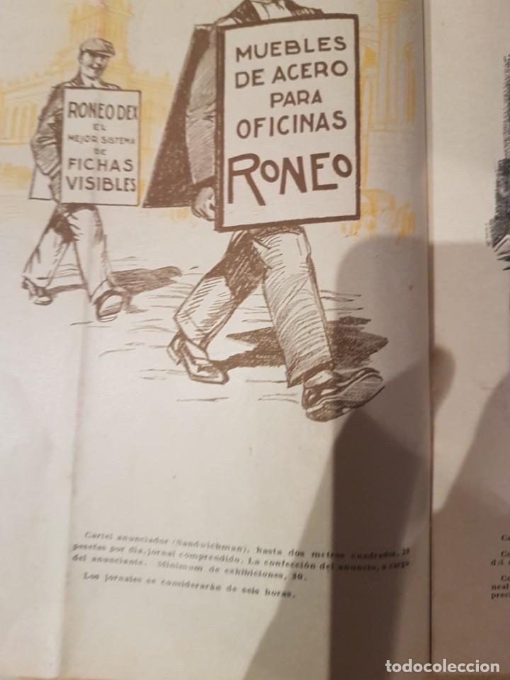Catálogos publicitarios: CATALOGO PUBLICITARIO FERIA BARCELONA 1929 pieza muy muy rara - Foto 11 - 209053451