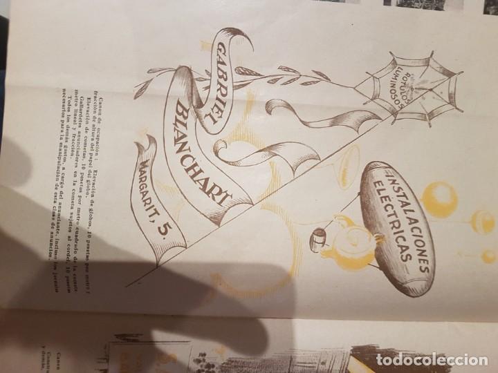 Catálogos publicitarios: CATALOGO PUBLICITARIO FERIA BARCELONA 1929 pieza muy muy rara - Foto 14 - 209053451