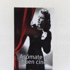 Catálogos publicitarios: CATÁLOGO LIBROS EDITORIAL NOTORIOUS 2015. CINE. JOSE LUIS GARCI. Lote 209138290