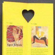 Catálogos publicitarios: BENEDIKT TASCHEN 1995 – CATÁLOGO TROQUELADO CON CORAZÓN. Lote 209343251