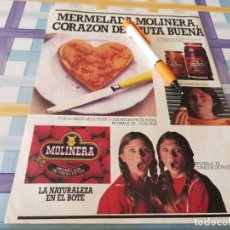 Catálogos publicitarios: MERMELADA MOLINERA ANUNCIO PUBLICIDAD REVISTA 1983. Lote 209360373