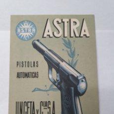 Catálogos publicitarios: ASTRA, UNCETA Y CIA. PISTOLAS AUTOMATICAS. GUERNICA. VIZCAYA. PUBLICIDAD AÑO 1952.. Lote 209562780