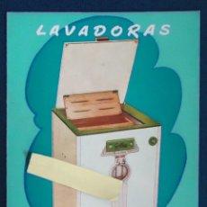 Catálogos publicitarios: PUBLICIDAD LAVADORA GILKIN SAN SEBASTIAN GUIPUZCOA VASCO EUSKADI ELECTRODOMESTICO HOGAR ROPA ESPAÑA. Lote 210549631