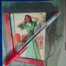 Catálogos publicitarios: PUBLICIDAD VINTAGE SOMIER NUMANCIA COLCHON CAMA DORMIR HOGAR CAMASTRO DISEÑO ESPAÑOL. Lote 210550095