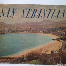 Catálogos publicitarios: SAN SEBASTIAN. GUIPUZCOA. JUNTA DE INFORMACION Y TURISMO. AÑO 1958. IMPRENTA VALVERDE.. Lote 210554701