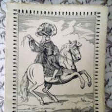 Catálogos publicitarios: SEMANA DEL CABALLO 1954 MONTÓN DE FOTOS DE CABALLOS Y ANUNCIOS DE LA ÉPOCA DE BODEGAS. Lote 210562212