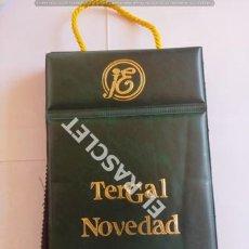 Catálogos publicitarios: ANTIGÜO MUESTRARIO TERGAL NOVEDAD- COVERT -CASTER - SUCESORA DE JOSE Mª ELPÓN - BARCELONA. Lote 210725889