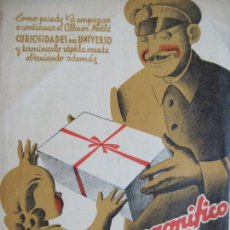 Catálogos publicitarios: SOCIEDAD NESTLE-CURIOSIDADES DEL UNIVERSO-MAGNIFICO REGALO-CATALOGO PUBLICIDAD-VER FOTOS-(V-21.175). Lote 210958450
