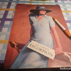 Catálogos publicitarios: MODA JERSEY ESCORPIÓN REVERSO ELECTRODOMÉSTICOS CORBERO ANUNCIO PUBLICIDAD REVISTA 1976. Lote 210970965