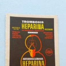 Catálogos publicitarios: ANUNCIO MEDICINA. Lote 210974749