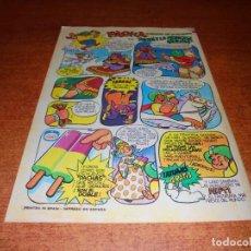 Catálogos publicitarios: PUBLICIDAD 1976: HELADOS CAMI, PACHÁ.. Lote 210981349