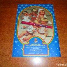 Catálogos publicitarios: PUBLICIDAD 1976: JUGUETES TOYSE, BABY MOCOSETE.. Lote 210981620