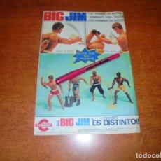 Catálogos publicitarios: PUBLICIDAD 1976: BIG JIM, JUGUETES CONGOST.. Lote 210981634