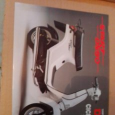 Catalogues publicitaires: PUBLICIDAD DERBI CICLOMOTOR SCOOTER START DS50. Lote 221785022